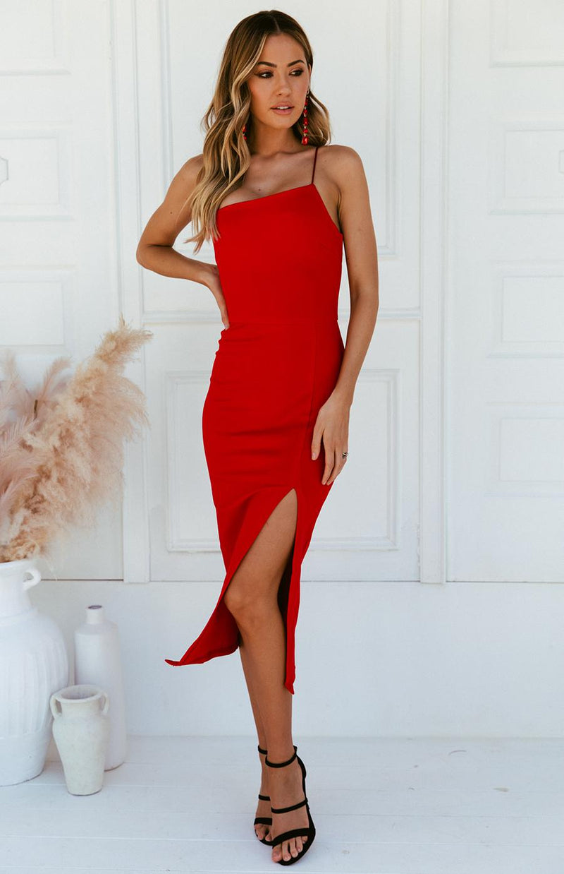 AYMARA DRESS - RED