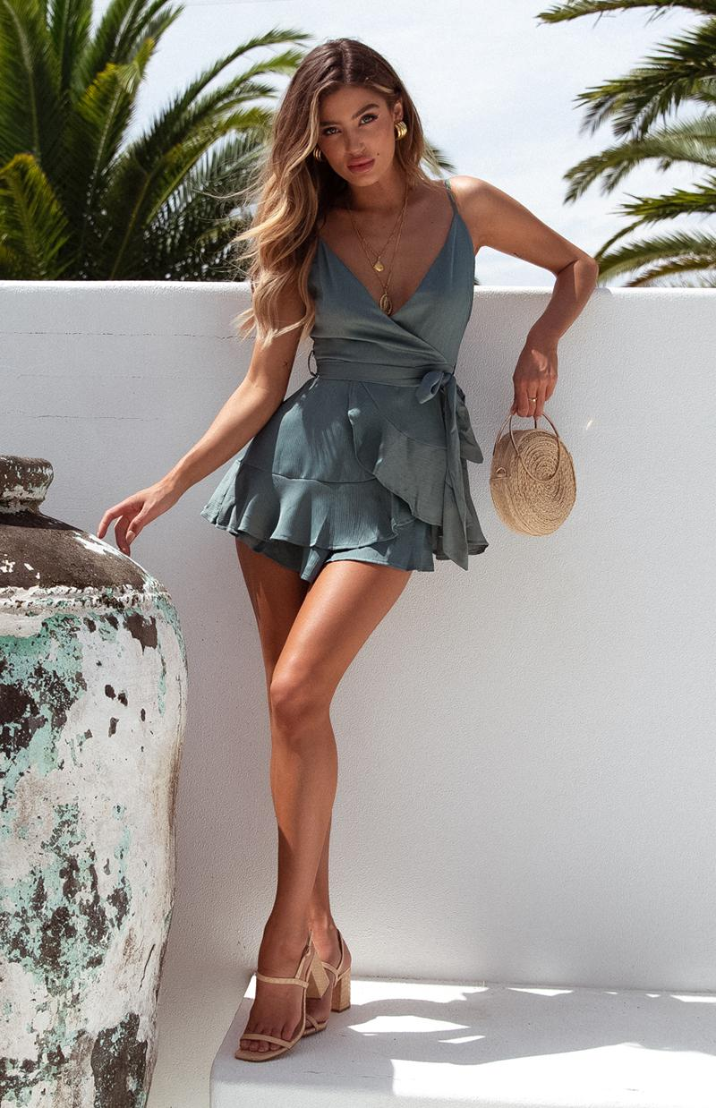 COOP PLAYSUIT - SAGE