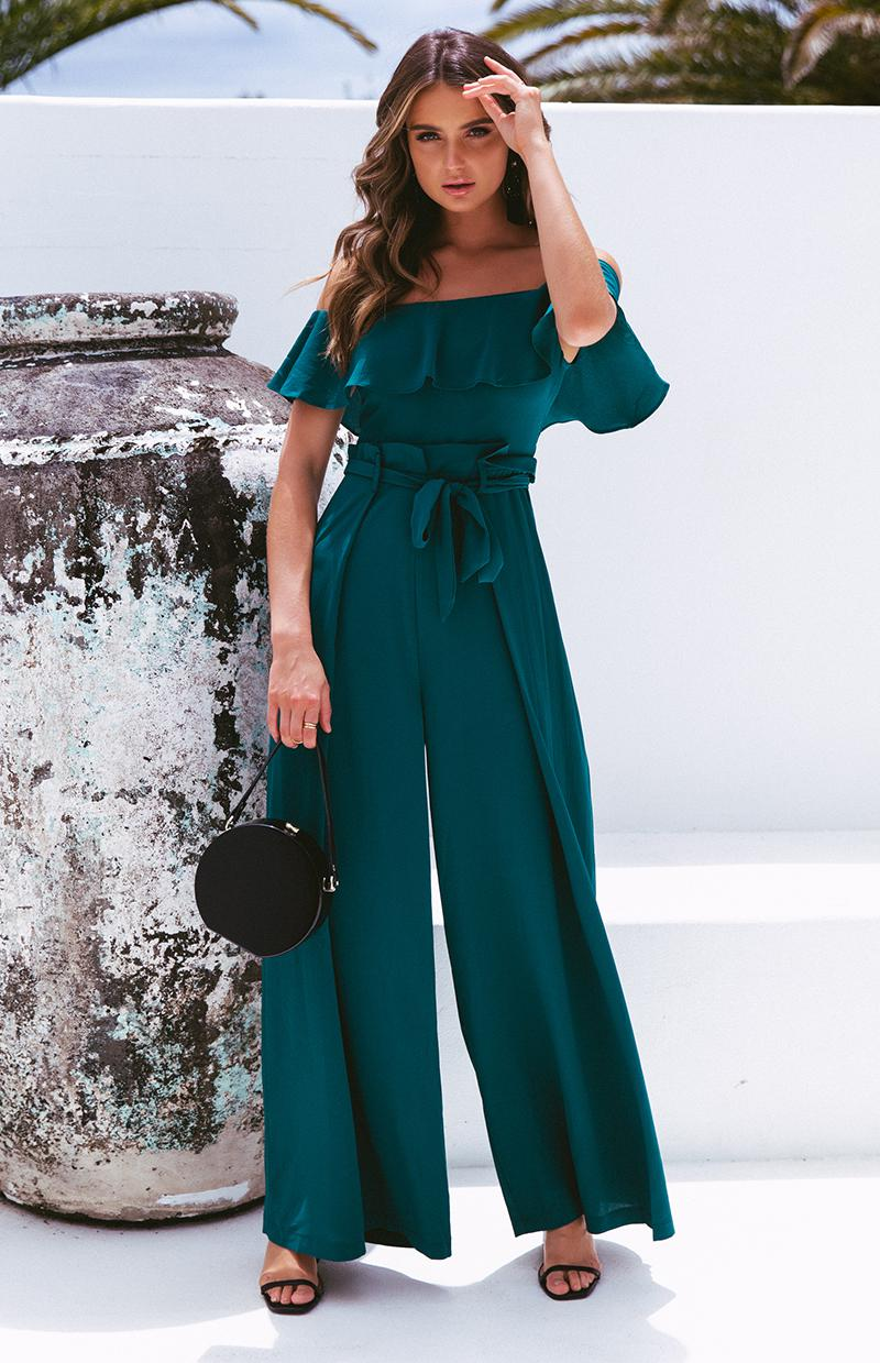 SPALL JUMPSUIT - TEAL
