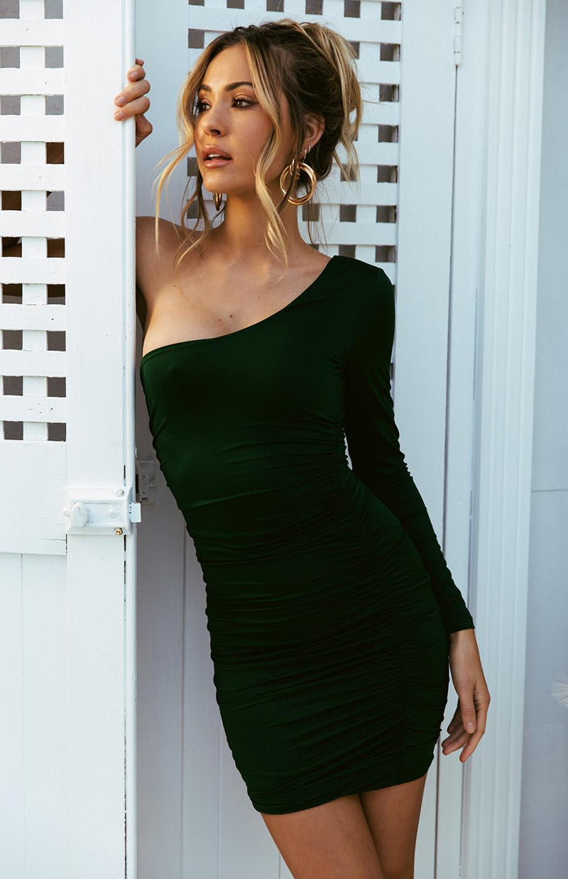 MULIA DRESS - EMERALD
