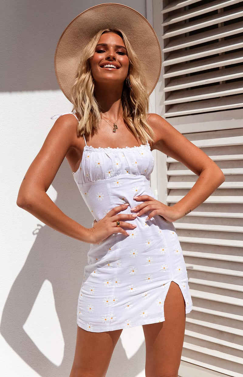 MAALI DRESS - WHITE