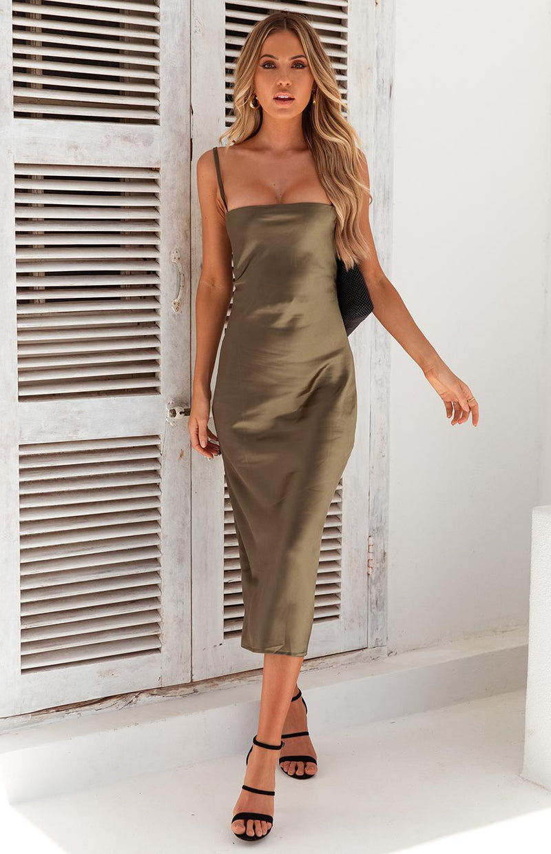 ANDY DRESS - OLIVE