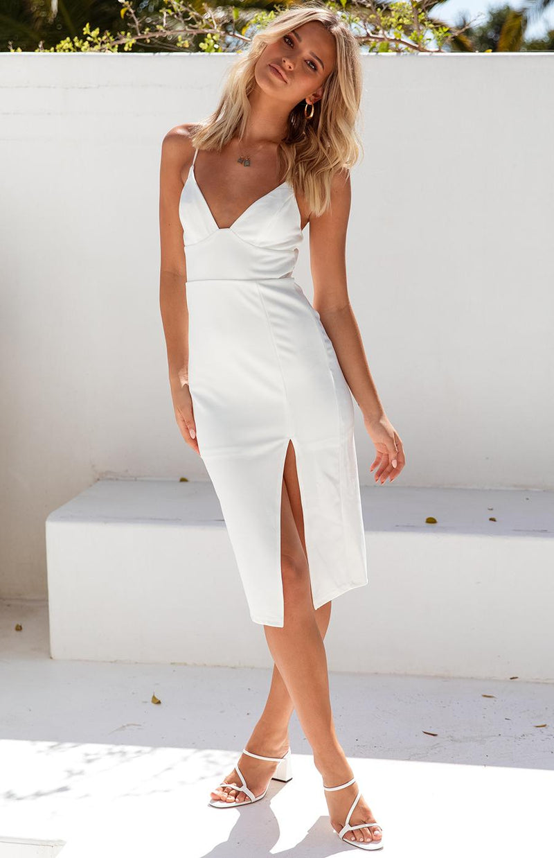 ATLANTIS DRESS - WHITE