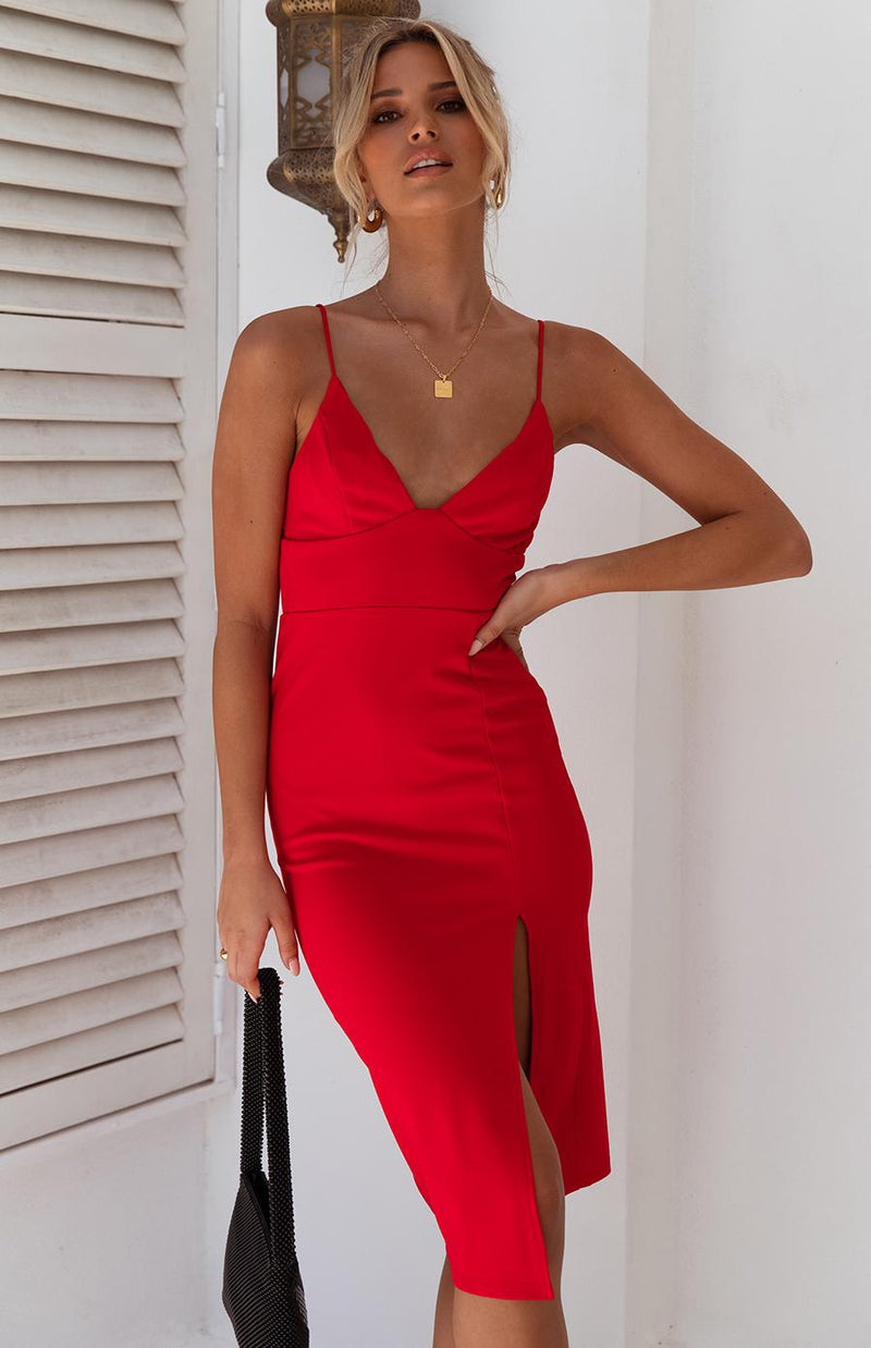 ATLANTIS DRESS - RED