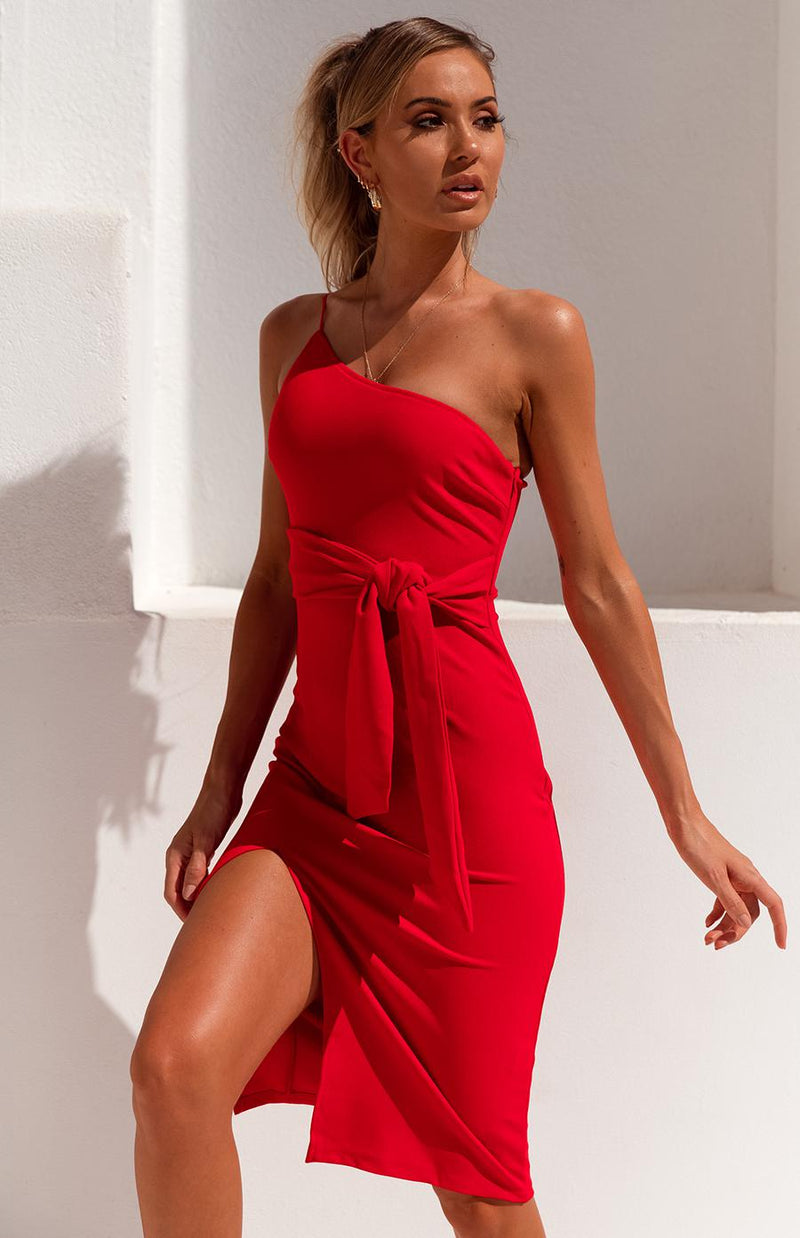 CHURCHILL DRESS - RED