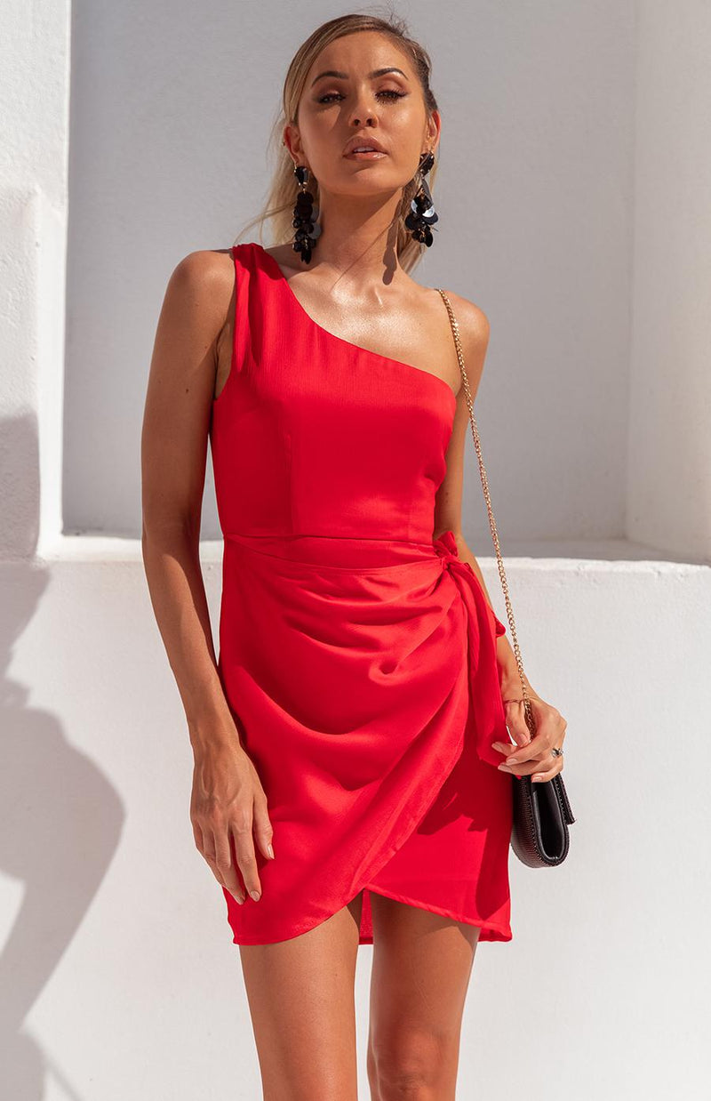 WILDS DRESS - RED