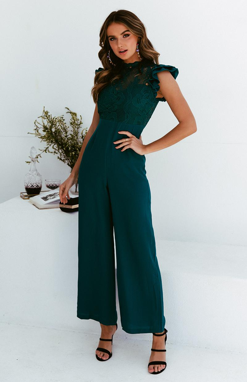 ADORE JUMPSUIT - TEAL