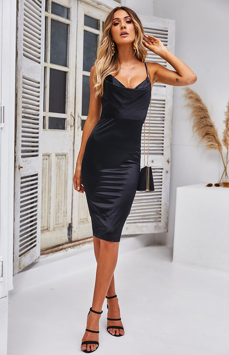 SINI DRESS - BLACK