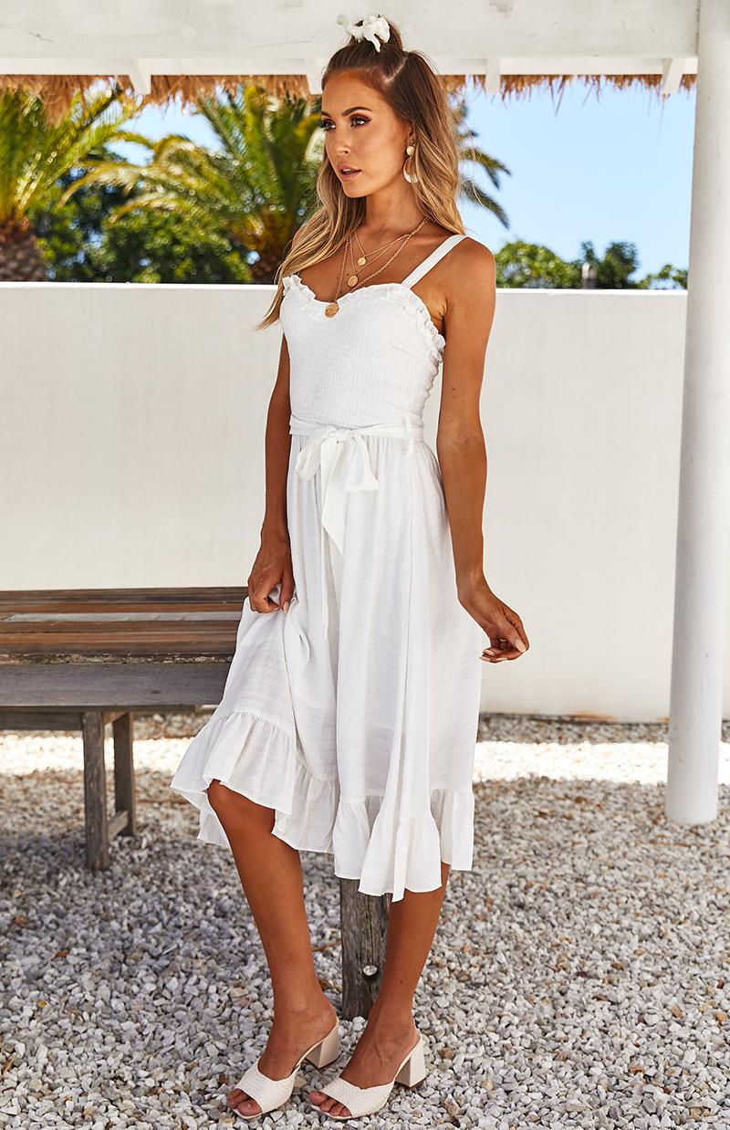 SHIRAZ DRESS - WHITE