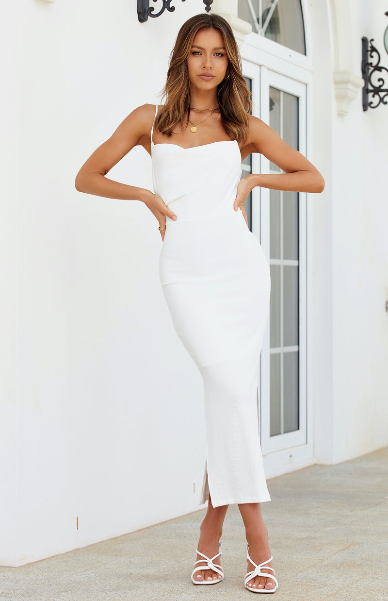 MARSHA DRESS - WHITE
