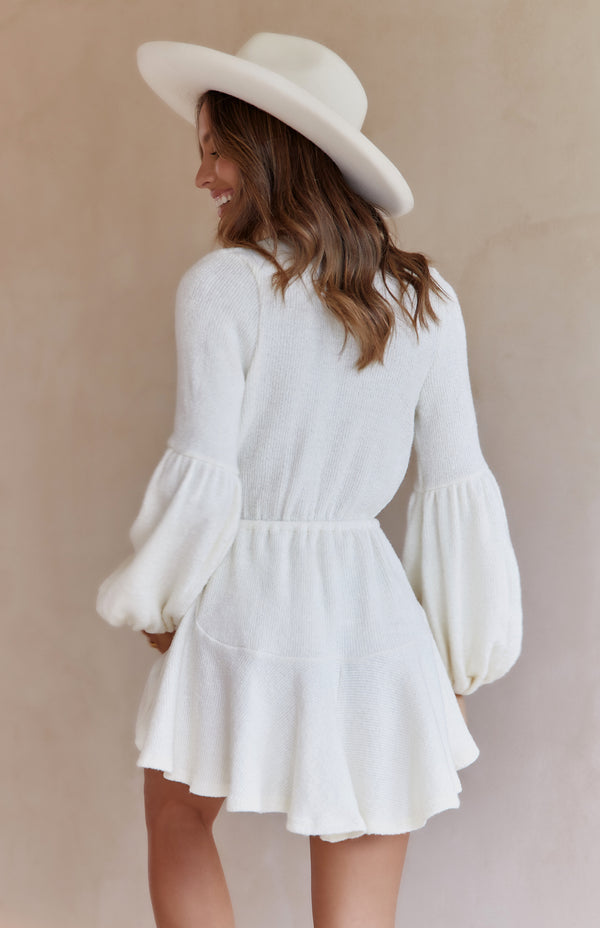 ARLO DRESS - WHITE