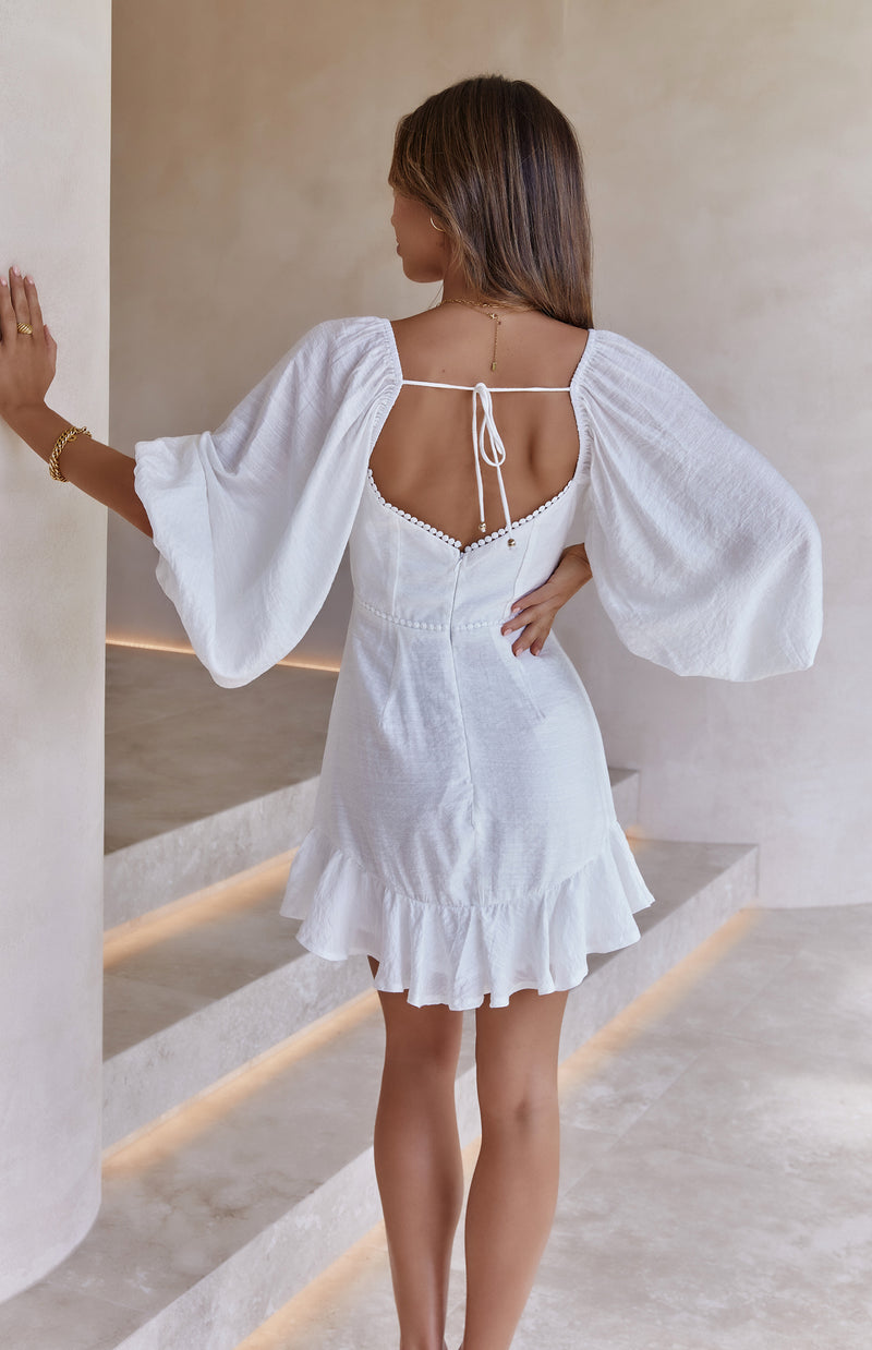 MERCY DRESS - WHITE