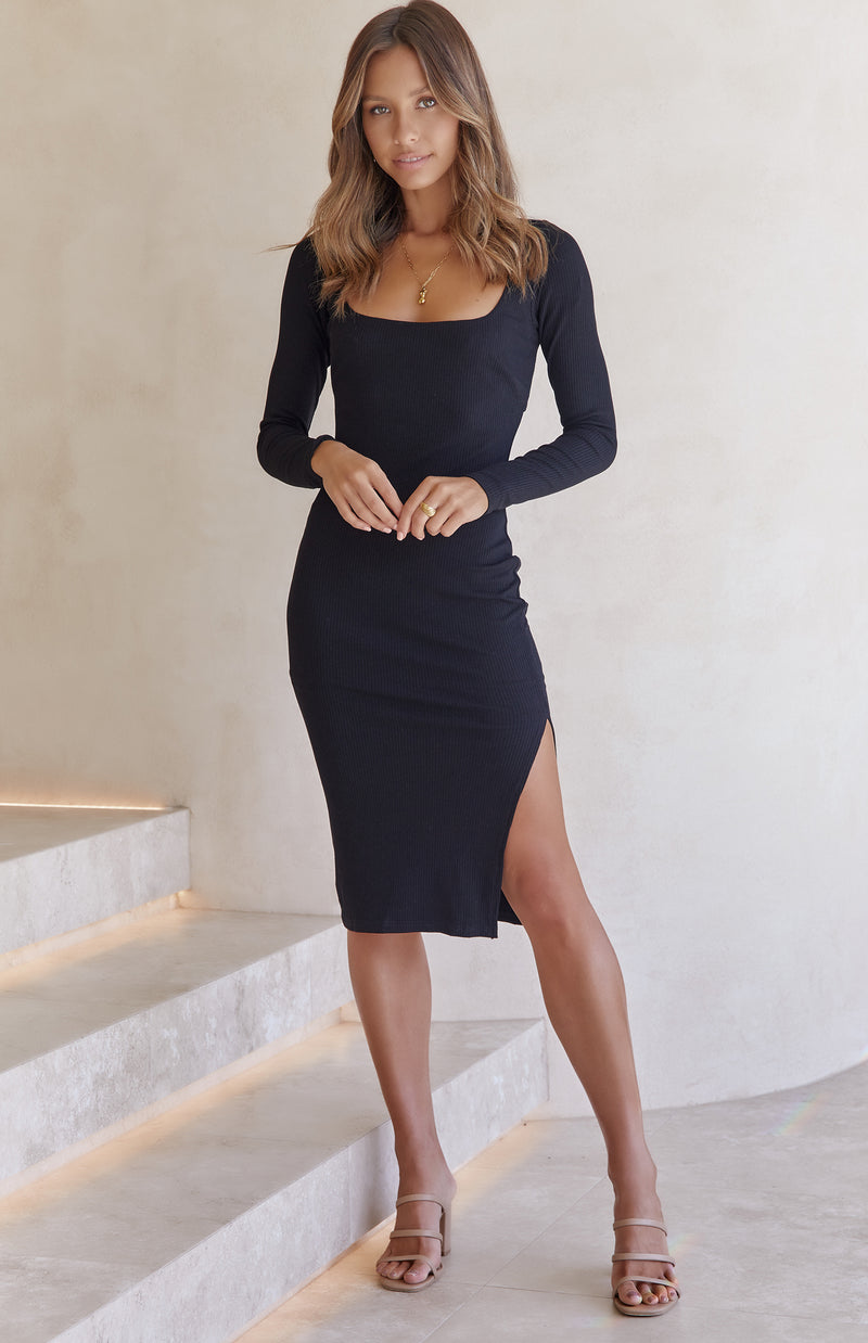 JOSLIN DRESS - BLACK