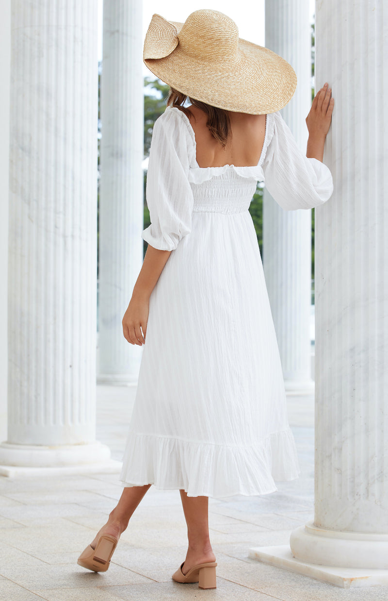 SOFIE DRESS - WHITE