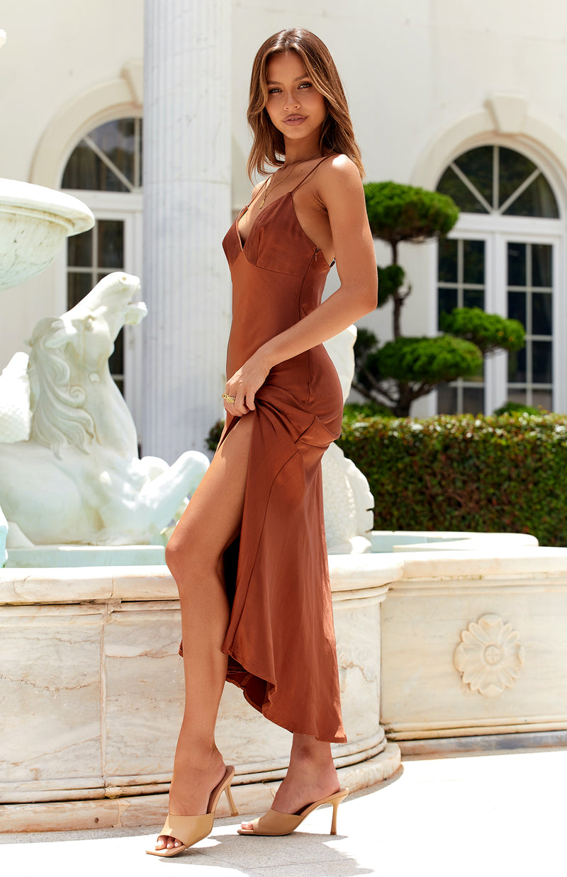 ARGAN DRESS - RUST