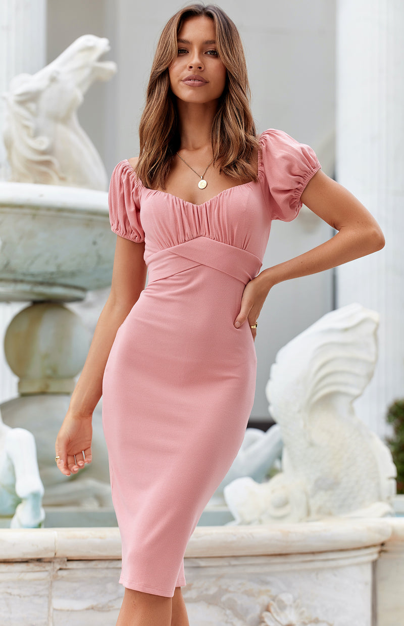 JEROME DRESS - PINK