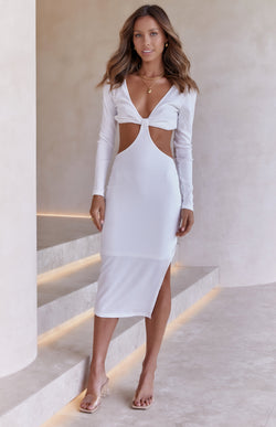 ALPINE DRESS - WHITE