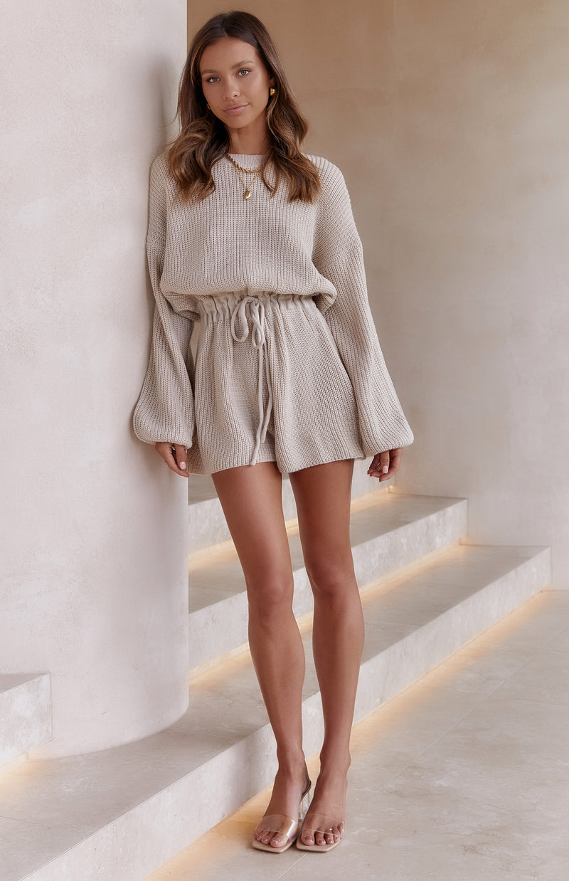 JUPITER PLAYSUIT - OATMEAL (PREORDER)