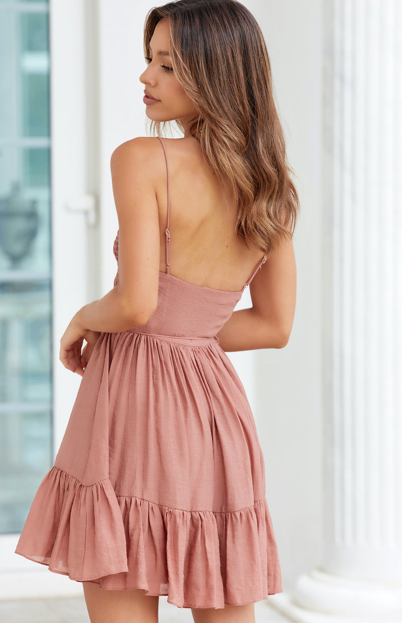 CAIRO DRESS - ROSE