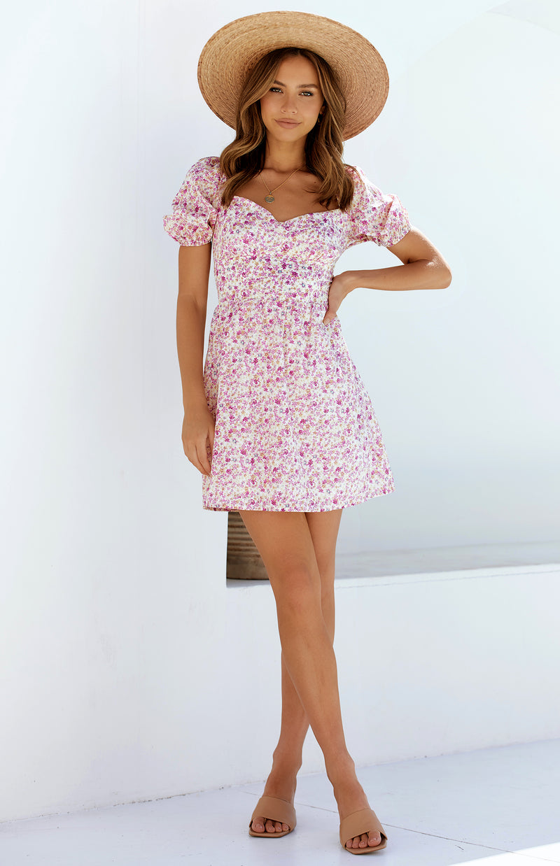 QUEENIE DRESS - PRINT