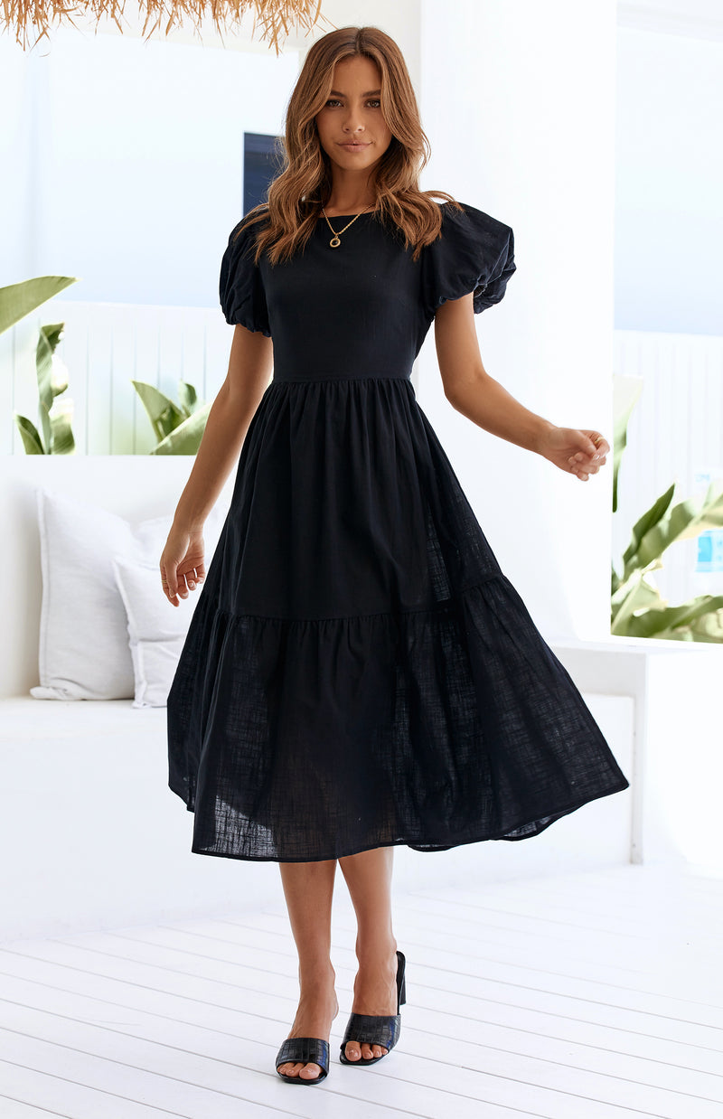 MAJOR DRESS - BLACK