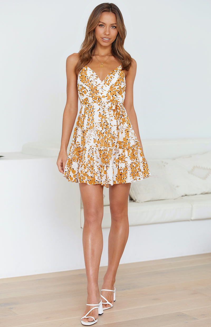 SURRY DRESS - PRINT