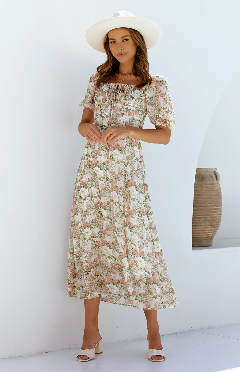 MUTRA DRESS - BLOSSOM PRINT
