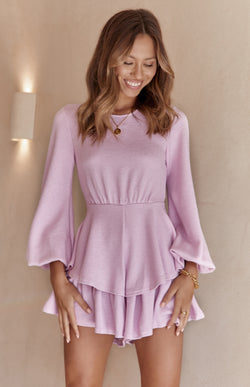 HENRY PLAYSUIT - PINK