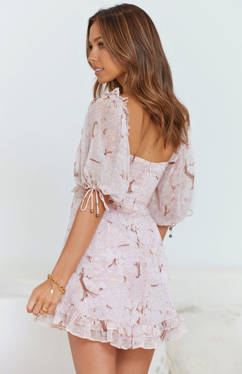 WAYNE DRESS - PINK PRINT