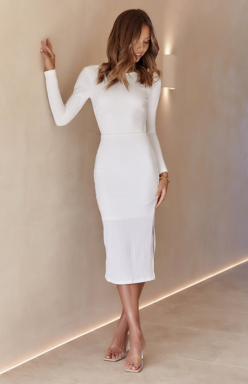 SOUNDTRACK DRESS - WHITE