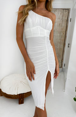 PAPINELLE DRESS - WHITE