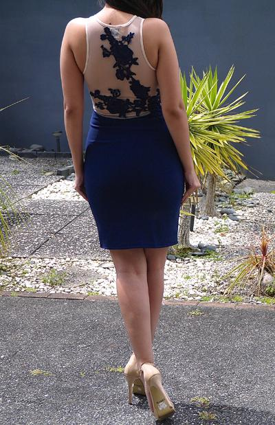 MY BELOVED DRESS - NAVY
