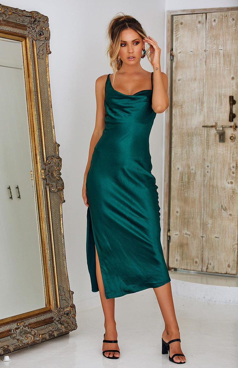 GATEWAY DRESS - EMERALD