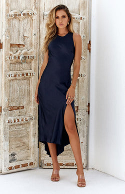 CANGGU DRESS - NAVY