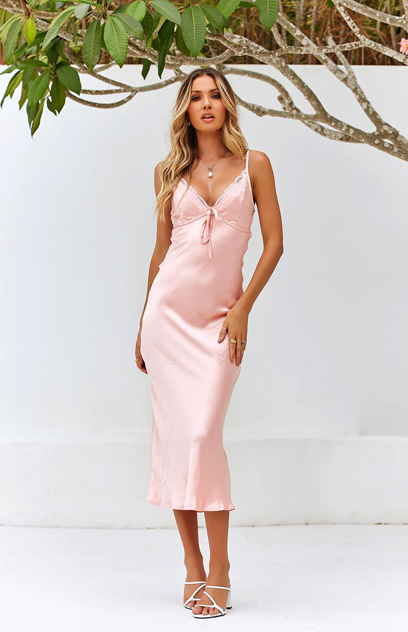 SYNERGY DRESS - BLUSH