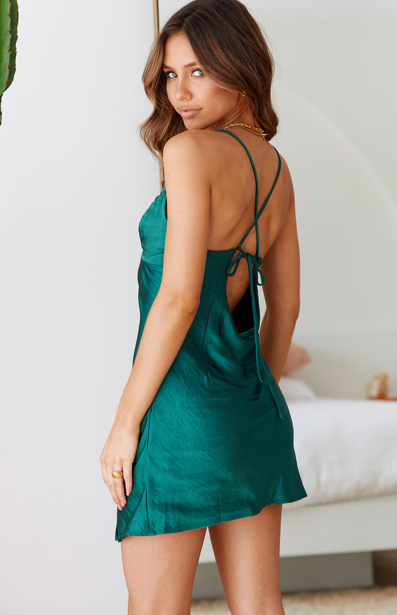 LAMO DRESS - EMERALD