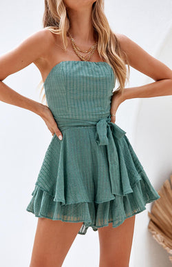 SOUTHERN PLAYSUIT - GREEN