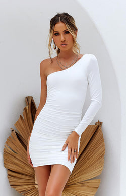 MULIA DRESS - WHITE
