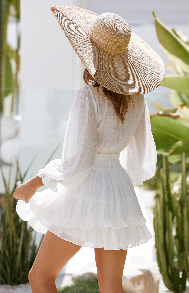 DORSET DRESS - WHITE