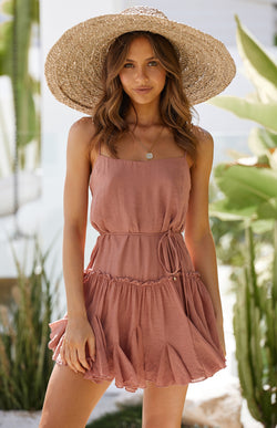 SOLE DRESS - ROSE