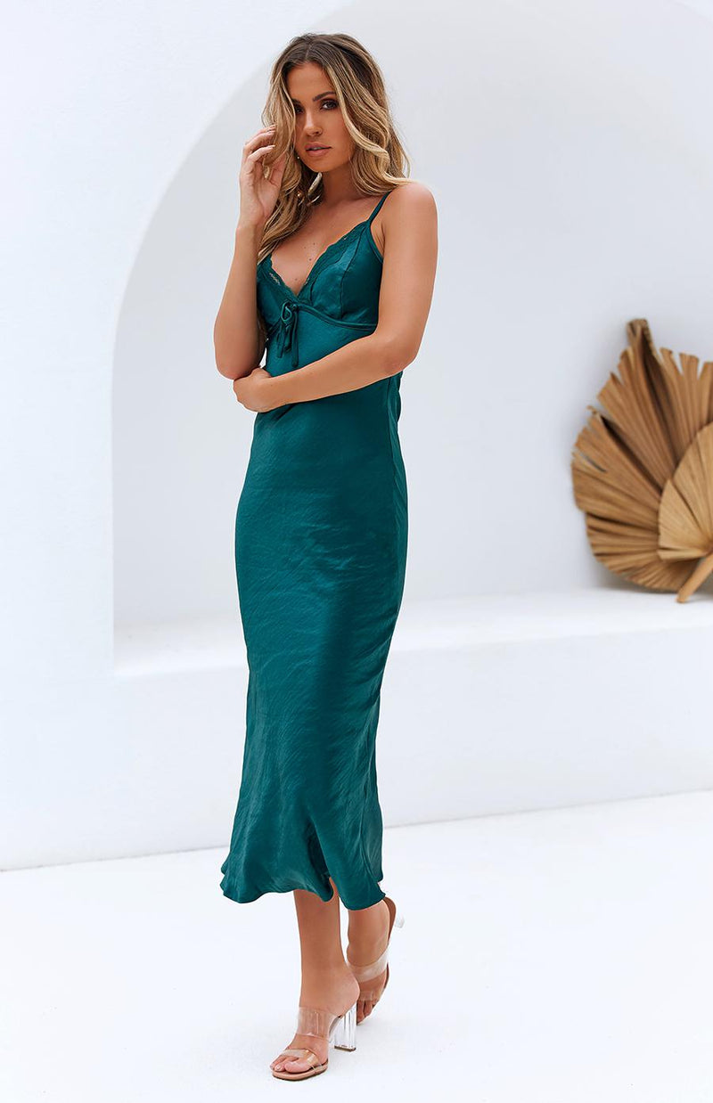 SYNERGY DRESS - TEAL