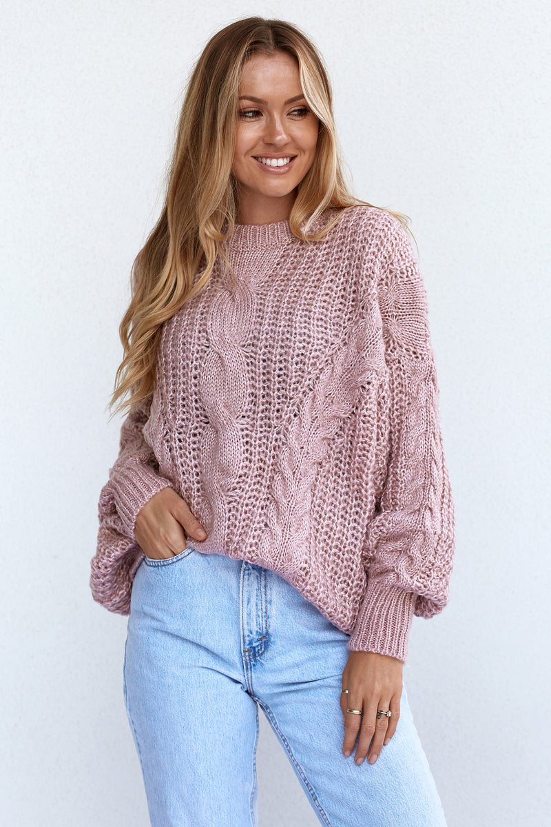 ARIA KNIT - ROSE