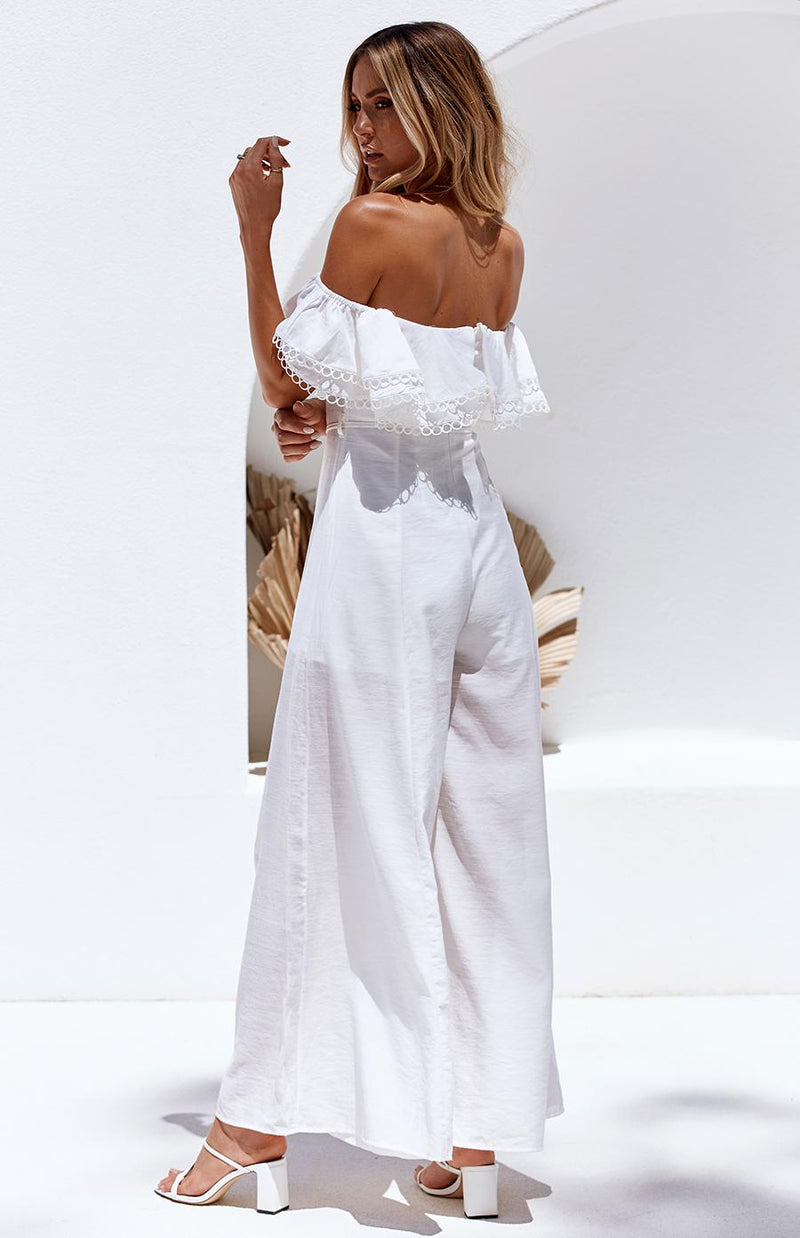 HIGHLIGHTS JUMPSUIT - WHITE