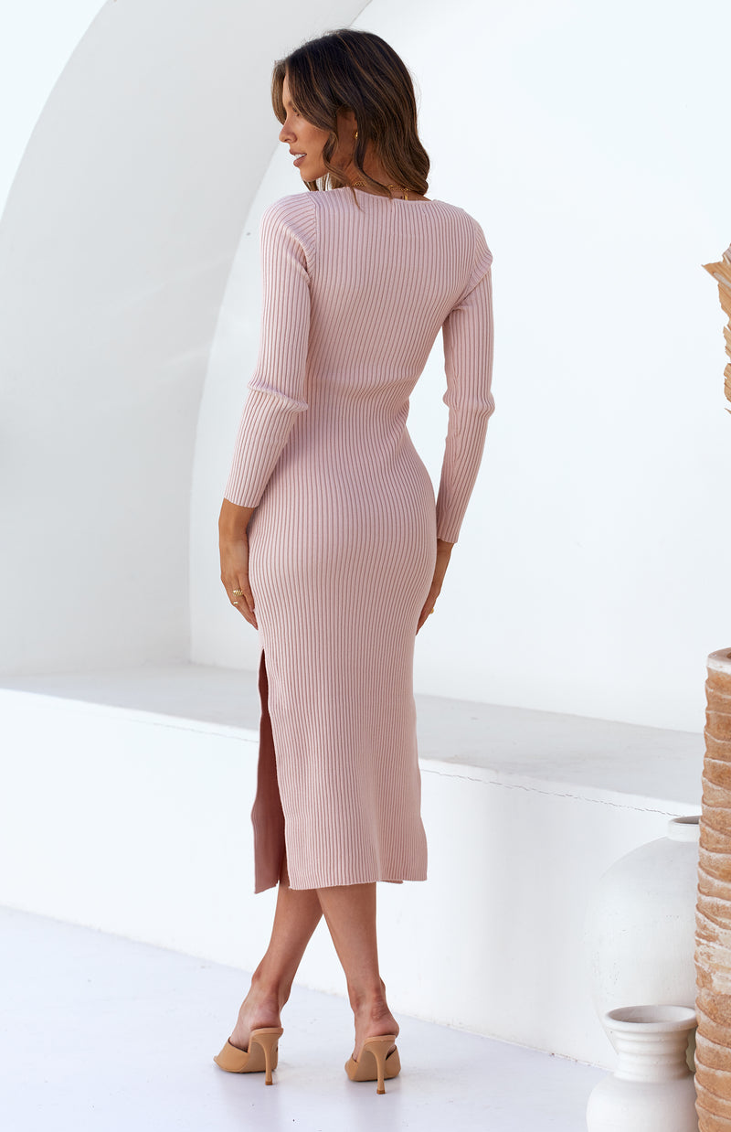 CIARA DRESS - BLUSH