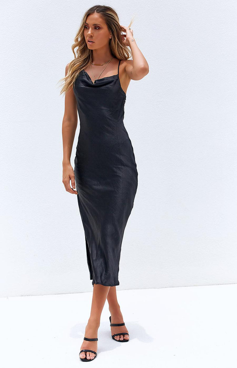 GATEWAY DRESS - BLACK