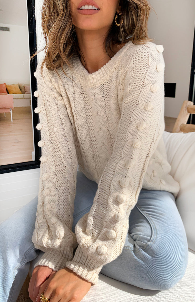 AASAM KNIT - CREAM