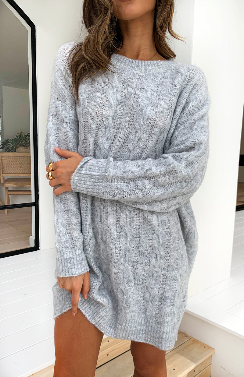 FARRAH JUMPER/DRESS - GREY