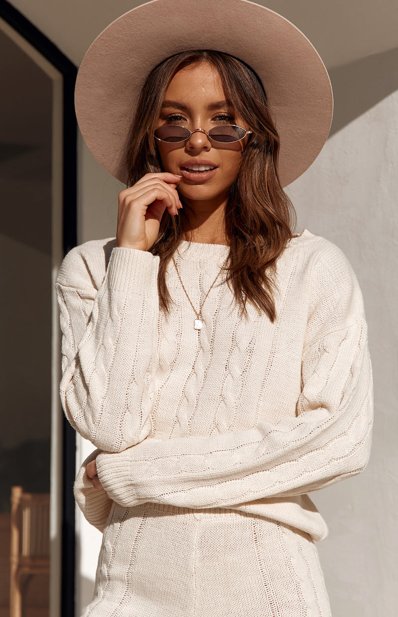 JOSIE KNIT - CREAM