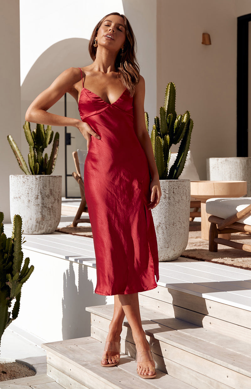 ANDREA DRESS - RED