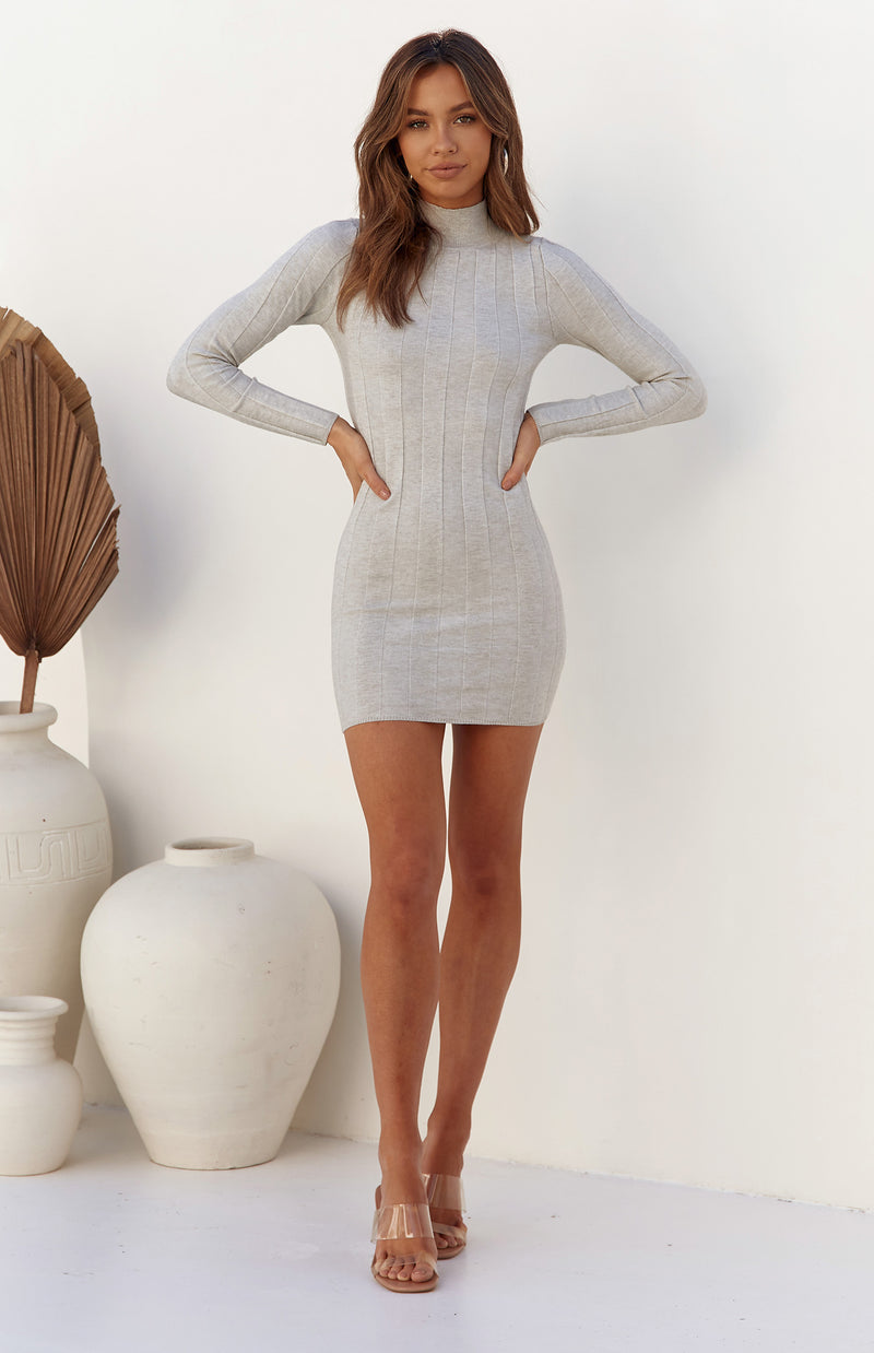 TENDAI DRESS - GREY